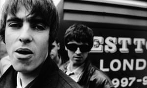 Liam and Noel Gallagher in 1994.