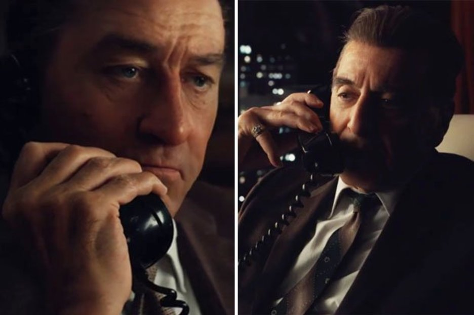 Netflix leaks first look at £160m mob film The Irishman with Robert