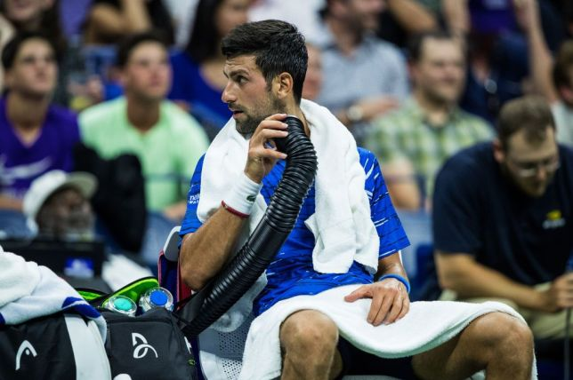 Novak Djokovic was involved in a confrontation with a fan at the US Open