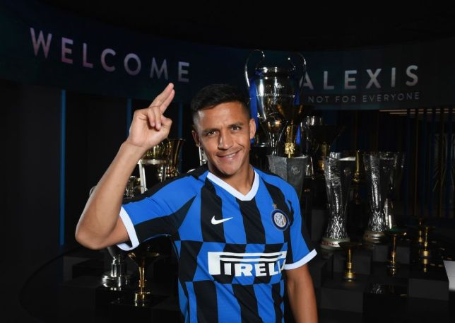Alexis Sanchez has joined Inter Milan on loan from Manchester United