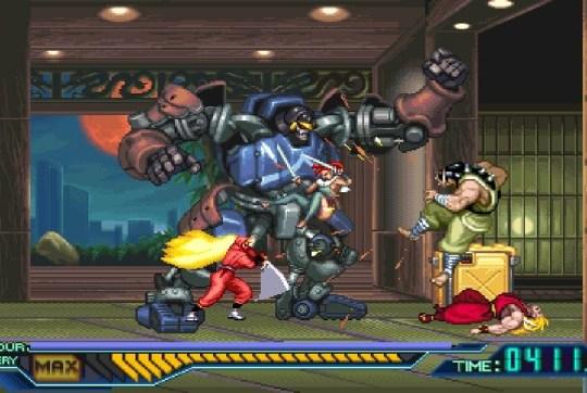 The Ninja Saviors screenshot