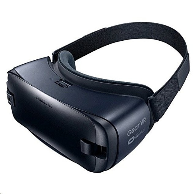 The headset is a Samsung Gear Gen 2 (pictured) provided by Rescape