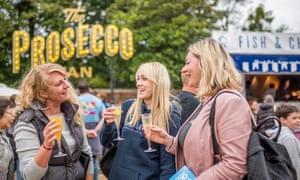 Hampton Court Palace food festival.