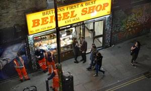 Beigel Shop, Brick Lane, Tower Hamlets, London