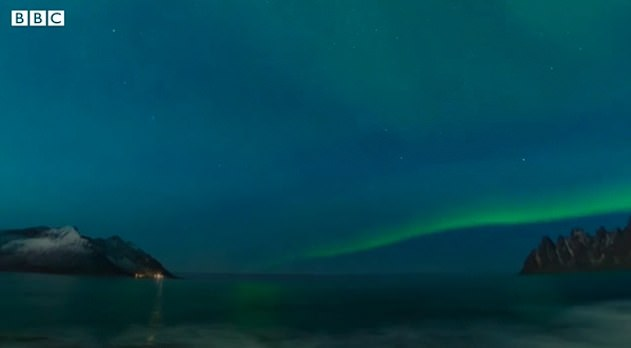 In one seven minute session, expectant mothers can also watch the Northern Lights