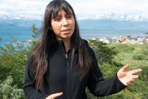 Estefanía González, Greenpeace's oceans campaigner.