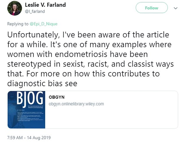 Some experts were well aware of the paper's existence since it's publication seven years ago, including Leslie Farland, a reproductive epidemiologist at the University of Arizona