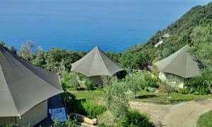 Safari tents at Sesta Terra.