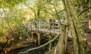 The Poohsticks Bridge in Ashdown Forest, East Sussex