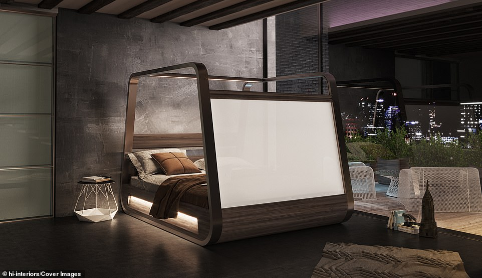 Similar vision?Earlier this year, car manufacturer Ford invented a prototype bed that automatically rolls selfish sleepers back to their side of the mattress whenever they stray onto the other half
