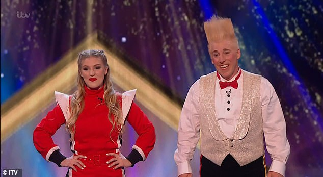 USA!Next to perform were the eventual winners Bello and Annaliese Nock, who were performing together for the first time