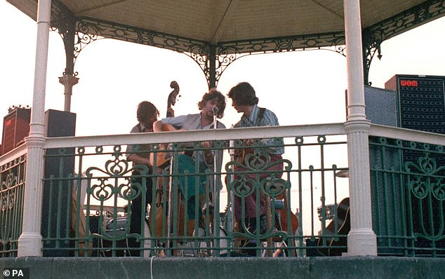 As a result of the campaign, which has raised around a third of the £245,000 restoration cost, the bandstand, owned by Bromley Council, has been given Grade II listed status by the Culture Department, on the advice of Historic England. A photo of the festival is pictured above