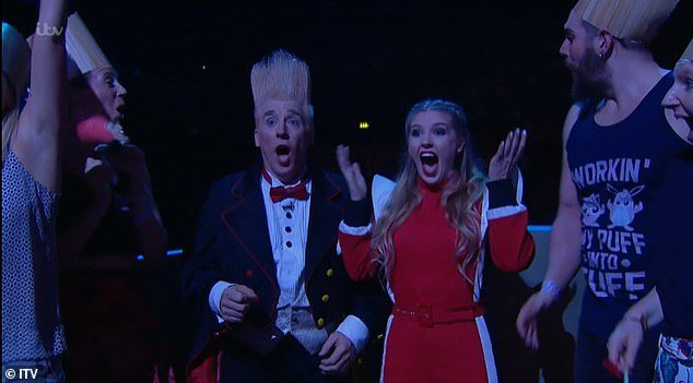 Outrageous: It comes as many viewers were fuming to seeUS father-daughter duo Bello and Annaliese Nock win the audience vote over several fan-favourite acts