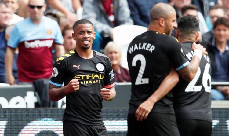 West Ham 0 1 Man City Live Score Goals And Premier League