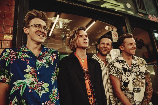 MCFLY - EMBARGOED UNTIL 9.45AM Wednesday 11th September