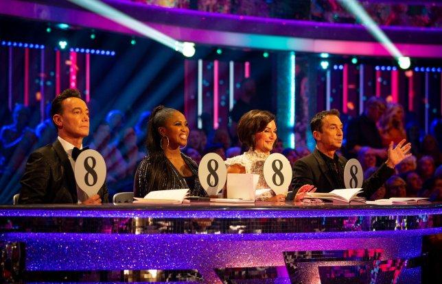 Craig Revel Horwood, Motsi Mabuse, Shirley Ballas and Bruno Tonioli on Strictly Come Dancing 2019