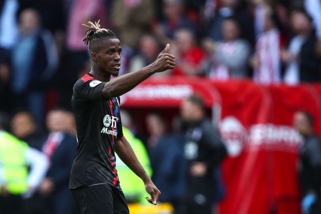 Wilfried Zaha was desperate to leave Crystal Palace this summer