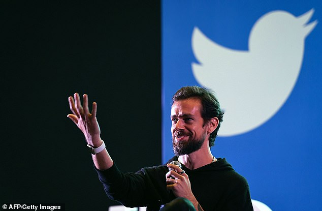 Twitter CEO Jack Dorsey (pictured above) has come under fire for the platform's role in promoting hate speech throughout the last year and has worked to roll out new policies and tools to mitigate toxic content