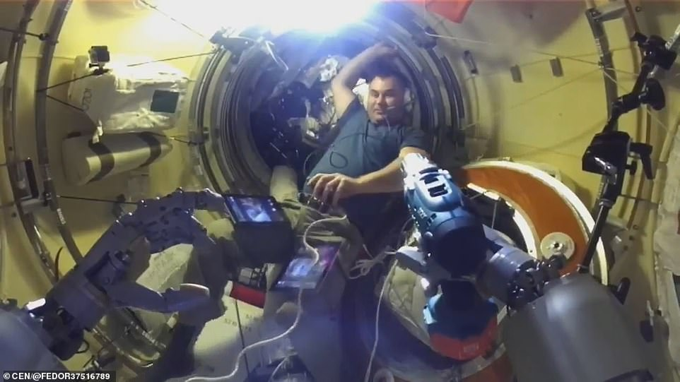 The robot, which stands for Final Experimental Demonstration Object Research (FEDOR), is also known as Skybot F850 and is the first robot ever sent up by Russia. The MS-14 Soyuz spacecraft carrying the unmanned mission blasted off at 6:38 am Moscow time (03:38 GMT) on August 27