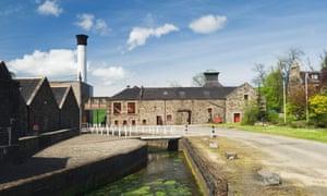 Glendronach Distillery, near Huntly, Aberdeenshire, Scotland.