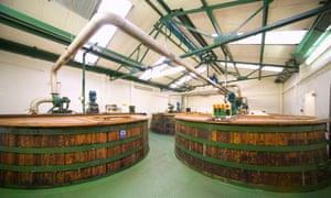 The Ton room in Oban Distillery, Scotland.