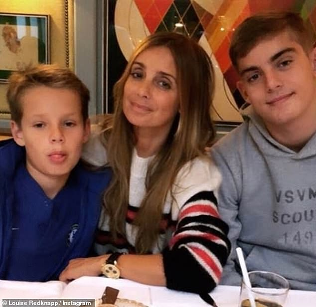 Strong: The mother-of-two to Charles, 15, and Beau, ten, who she shares with ex husband Jamie Redknapp, 46, shared that she felt under attack by strangers as she 'went through a time when I was taking bullets pretty much every day of my life'