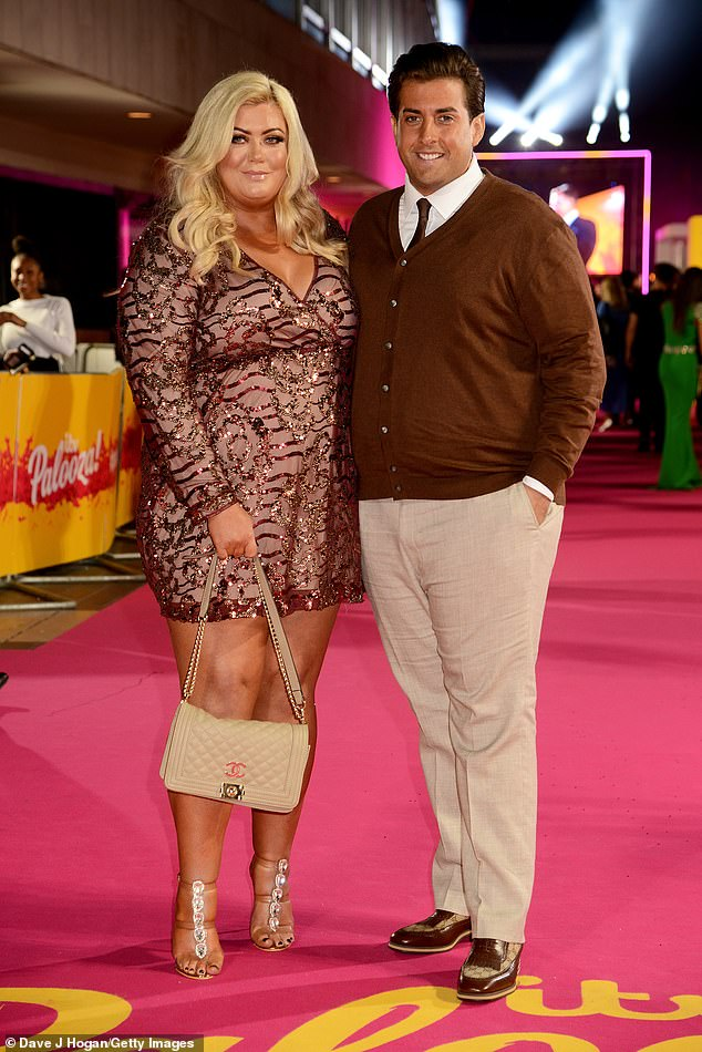 Health:The latest scare comes two months after Gemma Collins called 999 over fears her on/off boyfriend had overdosed (pictured together in October 2018)