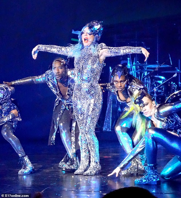 No shortcuts: Gaga put on a fantastic show for her 'little monsters'
