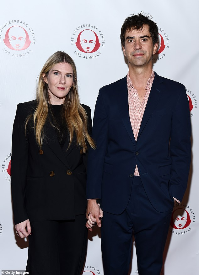 Cast: The event also reunited Pacino with Hamish Linklater and Lily Rabe, who starred with him in the Merchant of Venice on Broadway in 2010 and reprised their roles at the benefit