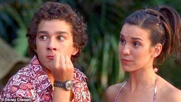 The 33-year-old Transformers star spoke about the condition on The Hollywood Reporter's Awards Chatter podcast on Tuesday - and says it developed from his time as a child actor in Hollywood. Seen here in an early role in Disney's Even Stevens
