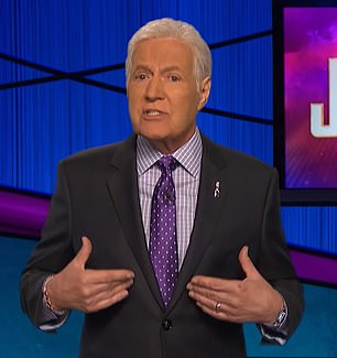In the clip, Trebek discussed the signs and symptoms of the disease and said he 'wished he had known sooner'