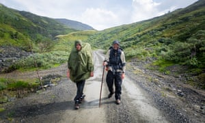 Crossing the Dovre mountain, St Olav's Way.
