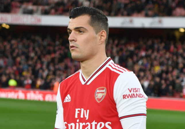 Granit Xhaka is said to be 'devastated' at the situation