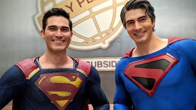 Double Vision: Brandon Routh & Tyler Hoechlin Join Forces for Arrowverse Crossover