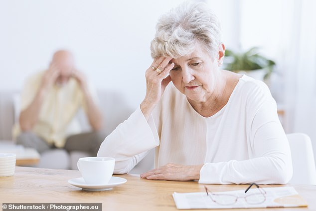 New York scientists have found younger retirees experience accelerated cognitive decline and poorer memory in later life (file image)