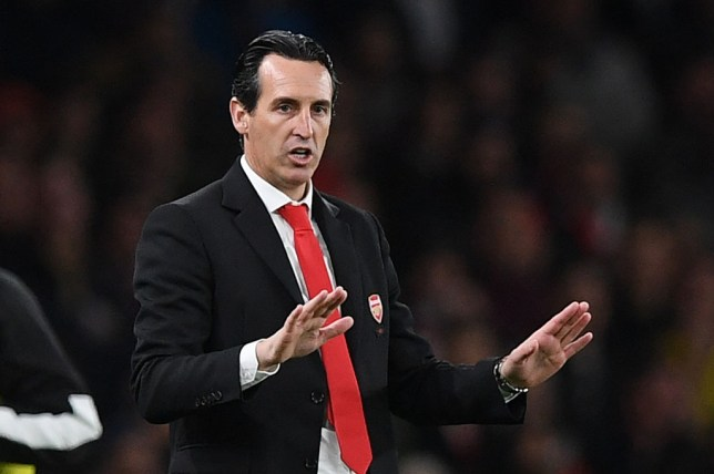 Unai Emery faced a barrage of questions relating to Granit Xhaka ahead of Arsenal's Carabao Cup clash against Liverpool