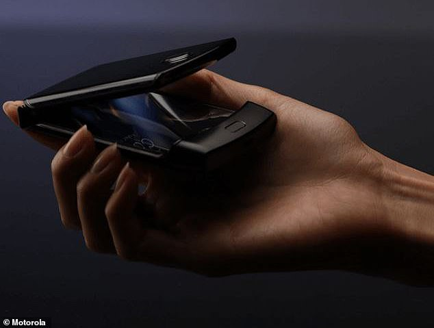 Images of Motorola's yet-to-be-release Razr phone (above) were posted to Twitter by frequent leaker Evan Blass