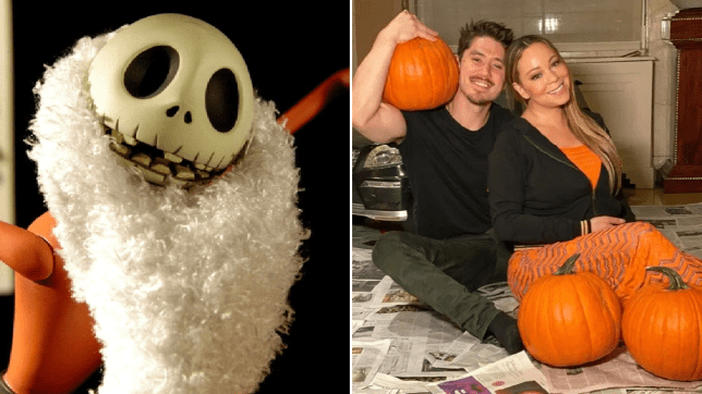 Mariah Carey Jack Skellington