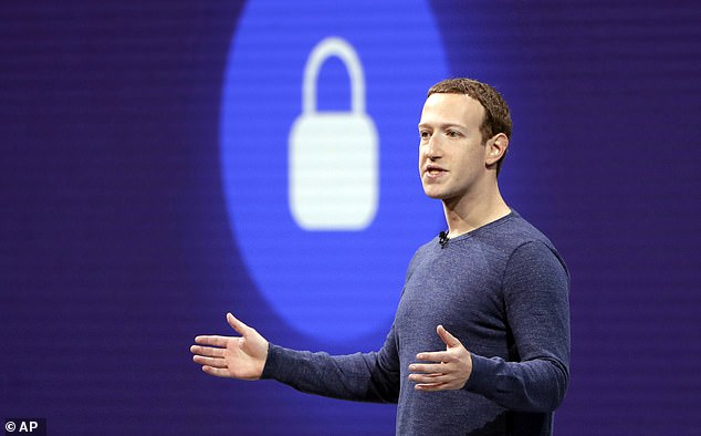Facebook users are being locked out of their accounts after reporting scammers and fradulent messages sent by other users (File photo)