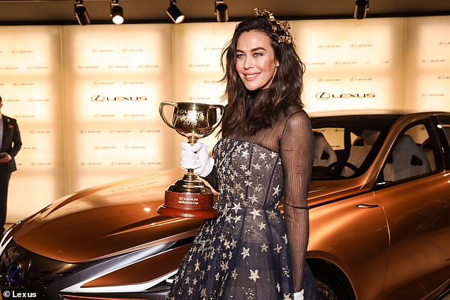 Boycott: The Melbourne Cup is about everyday people and not celebrities, Victoria's premier says, as model Megan Gale (pictured at last year's event) joins a list of stars to shun the race amid animal cruelty claims