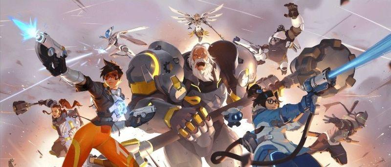 Overwatch 2 heroes artwork