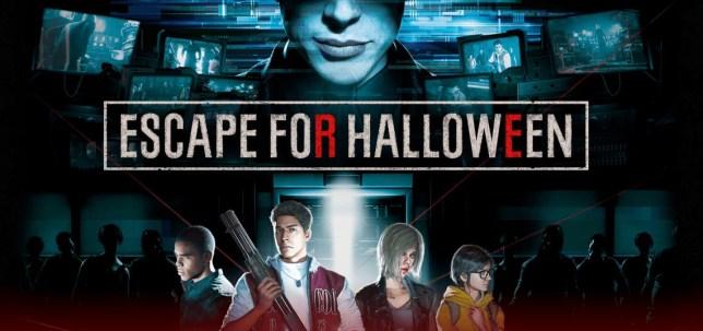 Resident Evil: Escape For Halloween screenshot key art