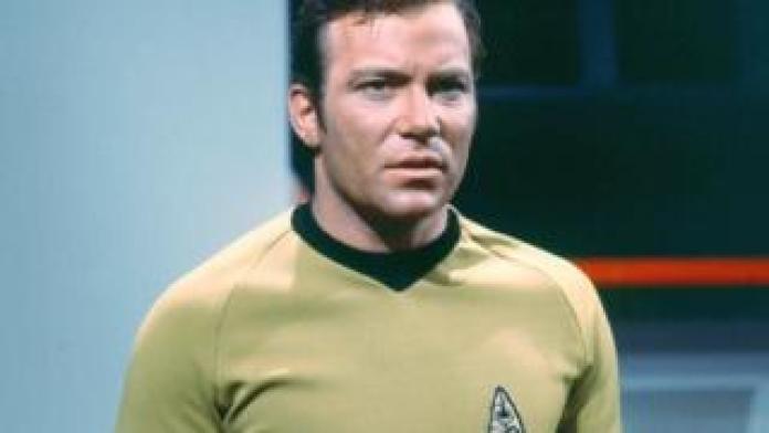 William Shatner as Captain James T Kirk