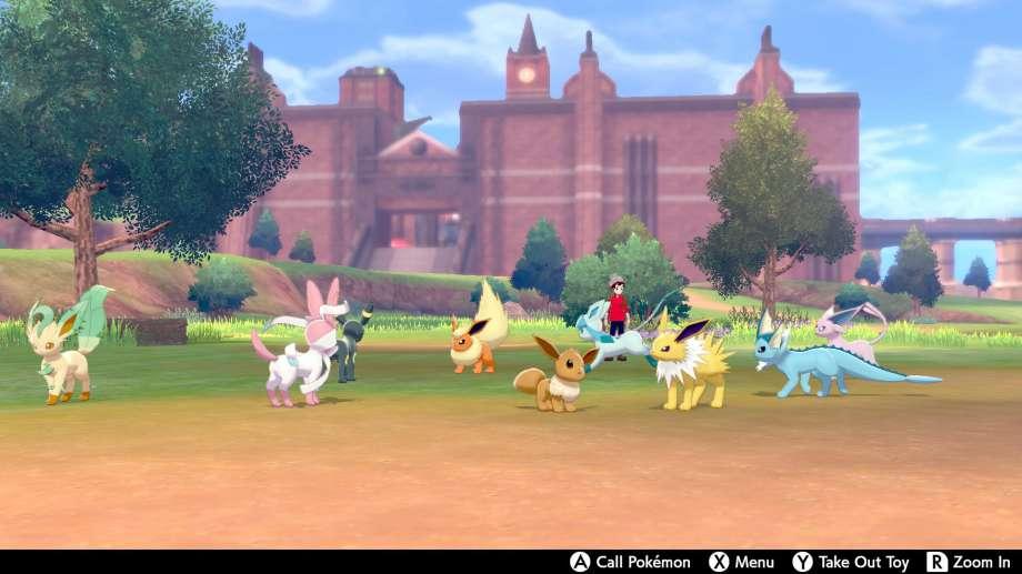 "Pokémon Sword/Shield features ""open world"" elements, so you can wander and catch many new Pokémon species. Photo: Nintendo / Nintendo"