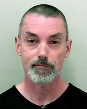 Head shot of Simon Hayes,  jailed for abandoning an elderly American man with dementia