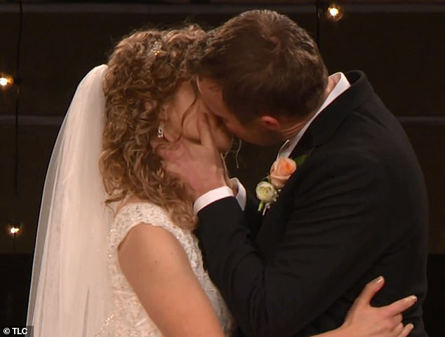 There ya go! Finally, they sealed the deal with a kiss on the lips