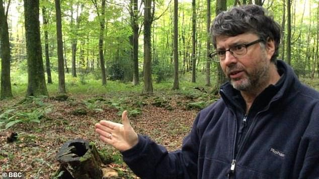 Archaeologist Jon Hoyle discovered the site, near the village of Tidenham, Gloucestershire