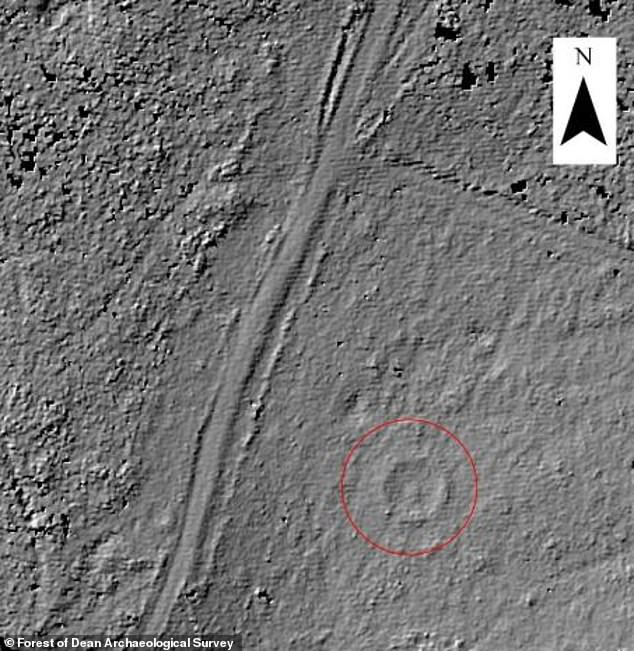 Dating back to about 2,000 BC the circular ritual ring was found during a LiDAR laser scan of the area