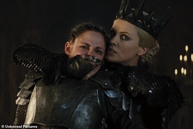 Poisoned apple: It's been seven years since Charlize and Kristen co-starred in Snow White and the Huntsman, which was overshadowed by Stewart's affair with director Rupert Sanders
