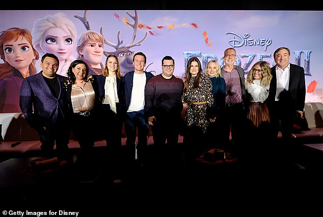 Group shot! Frozen pocketed $1.276B worldwide and is the highest-grossing animated film of all time